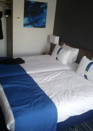 Holiday Inn Express Amsterdam - South : Il letto comodo