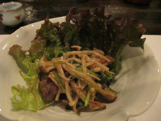 Watanabe Inn: Part of dinner
