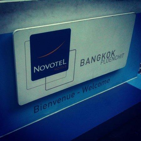 Novotel Bangkok Ploenchit Sukhumvit: Entrance