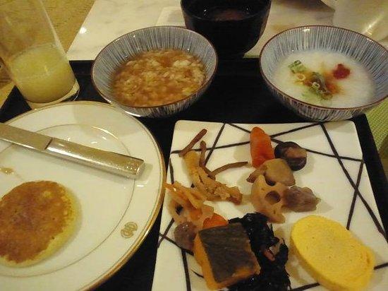 The Westin Miyako Kyoto: ブッフェでとってきた和食