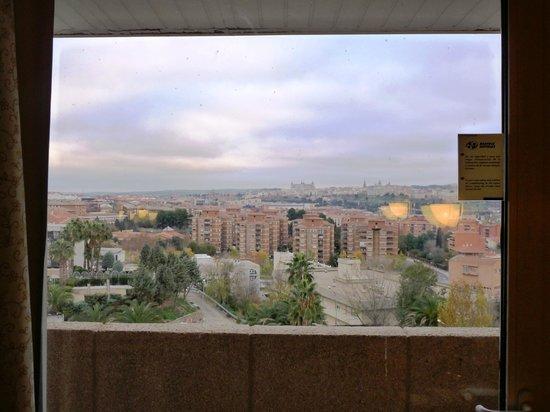 Hotel Beatriz Toledo Auditorium & Spa: Vistas desde la habitación