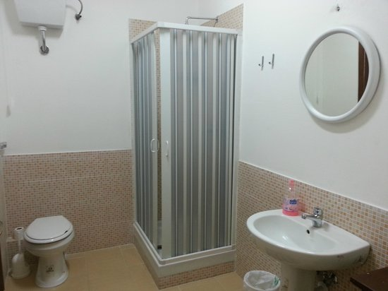 Your Hostel: One of the bathrooms