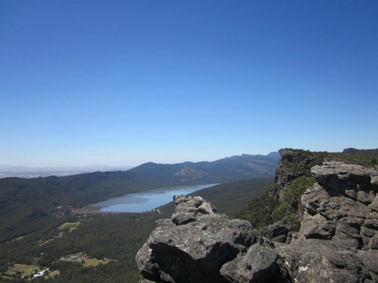 Halls Gap, Avustralya: View from top