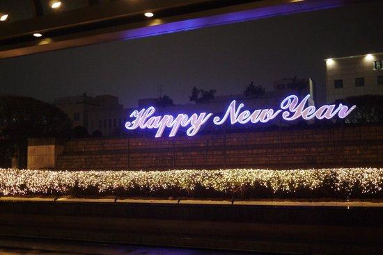 The Ritz-Carlton, Seoul: ホテルの入口はきれいに彩られていました