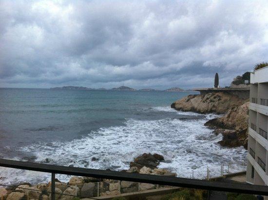 NH Marseille Palm Beach: vue balcon
