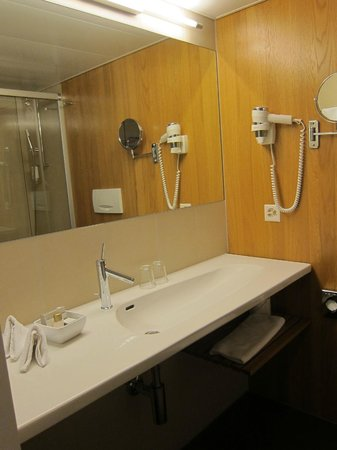 Continental-Park Hotel: Bathroom