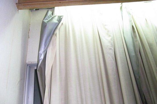 Lanna View Hotel: ผ้าม่านหน้าต่าง