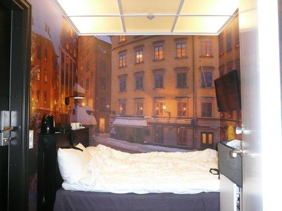 Nordic C Hotel: particolare della camera