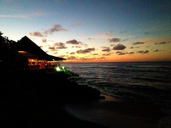 The Beach Club at Sunset