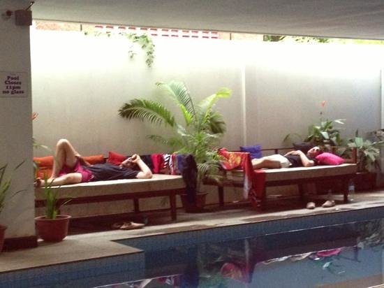 The Siem Reap Hostel : after too much fun in Siem Reap