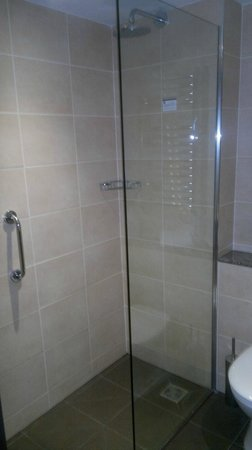 The Gonville Hotel: Small shower/wet room