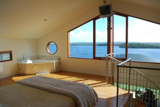 Wheelhouse Apartments: View from Upstairs Bedroom