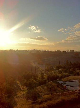 Relais Villa Grazianella - Fattoria del Cerro: Room with a view