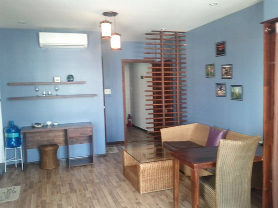 Hotel Canary Kim Tuoc : Studio apt entrance