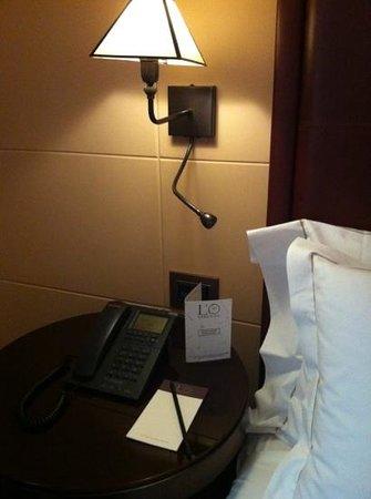 Hotel L'Orologio: particolare camera
