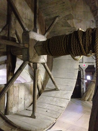 Salisbury Cathedral: Inside the tower