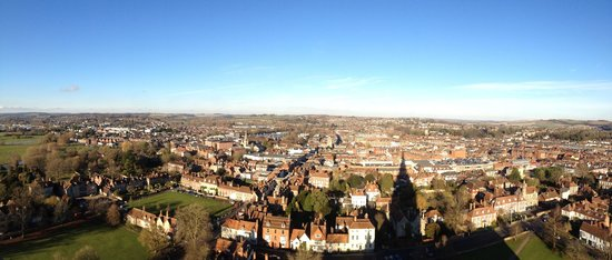 Salisbury Cathedral: View from the top