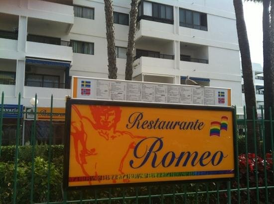Romeo: view from the street
