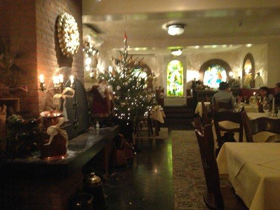 In den Hoof Hotel-Restaurant : gezellige kerstsfeer