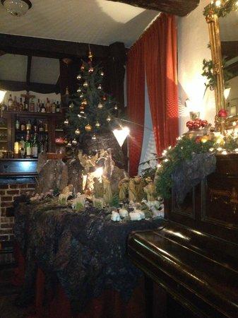 In den Hoof Hotel-Restaurant: gezellige kerstsfeer