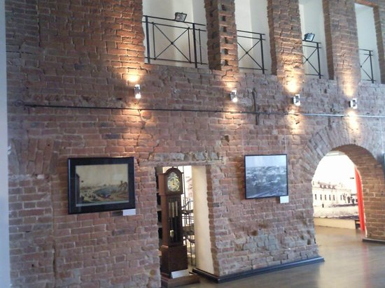 Yekaterinburg History Museum :                   Интерьер музея