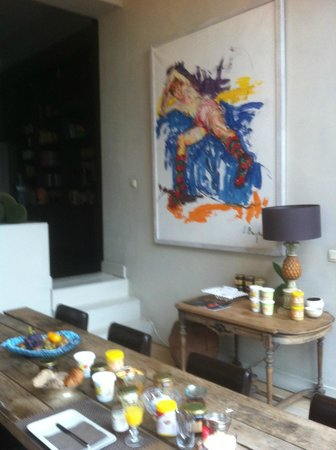 L'Art de la Fugue: Sala colazione