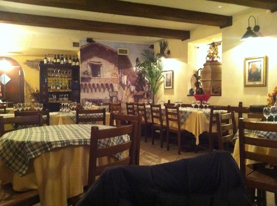 Ristorante Roma Sparita: Interior del restaurante