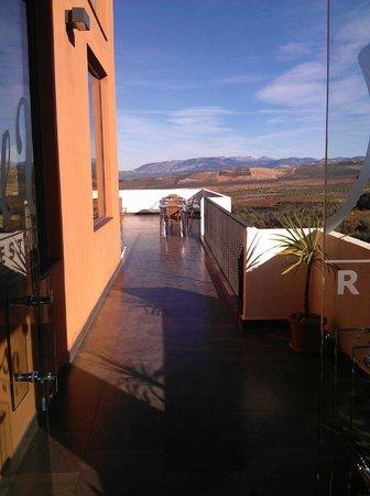 Hotel Rural Zerbinetta: Terraza