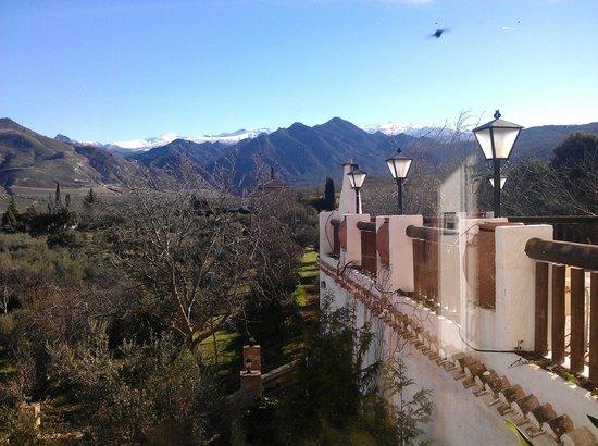 Hotel Rural Zerbietta: Terraza