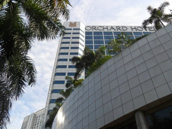 Orchard Hotel Singapore: Exterior