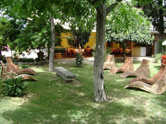 Villa El Shaddai : giardino
