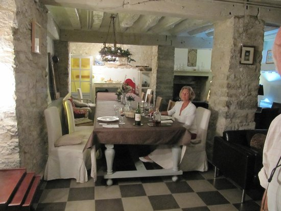 El Secreto de Ollo: The dining room