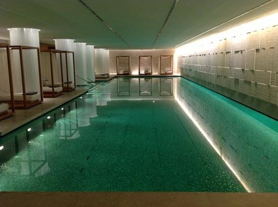 Amazing Bulgari Hotel, London: Iconic Swimming Pool