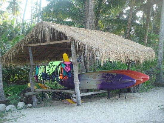 Shantaa Koh Kood: Hotel kayaks