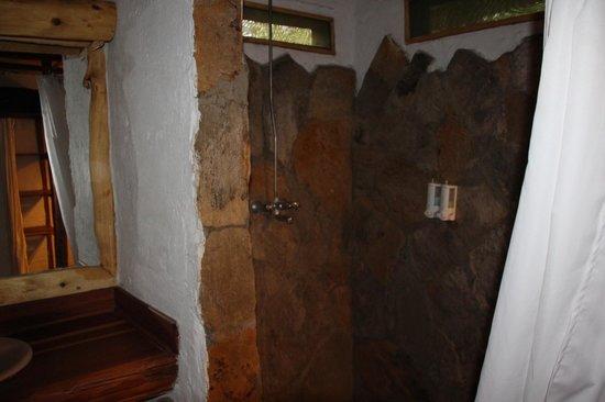 Oloshaiki Camp: dusche