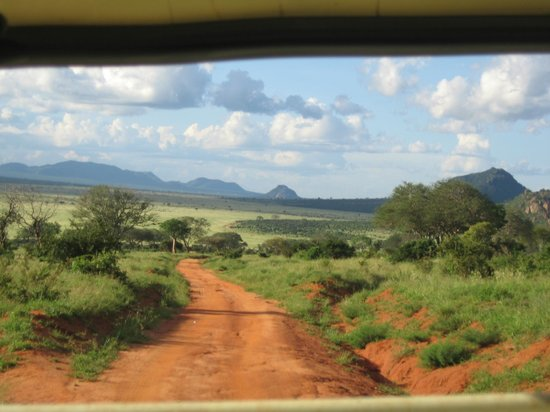 Safari Kenya Watamu - Day Tours: tsavo est panorama