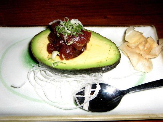 Hokkaido Japanese Restaurant: Avocado Boat