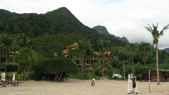 Berjaya Langkawi Resort - Malaysia: view from the beach
