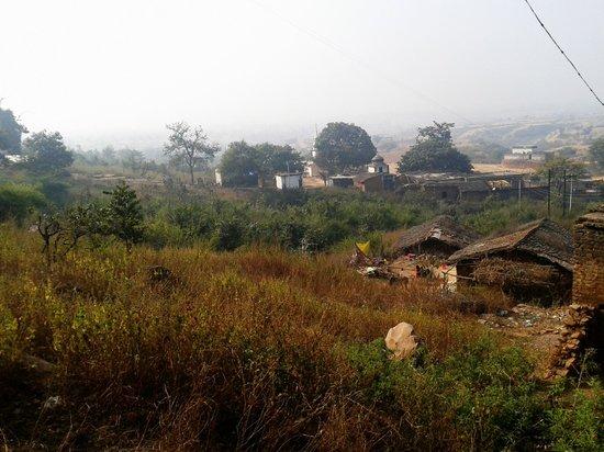 Chitrakoot, India: Hanuman Dhara