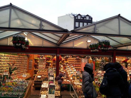 Flower Market / Bloemenmarkt: Il mercato