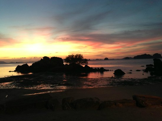 Phulay Bay, A Ritz Carlton Reserve: sunset