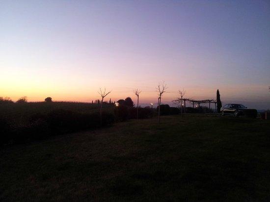 Le Fonti a San Giorgio: Tramonto