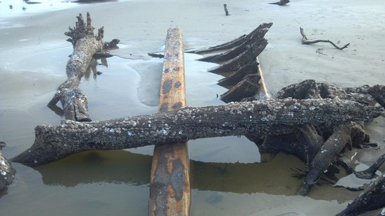 Driftwood Beach, Wreck of the Magnolia