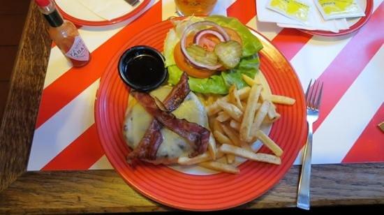 T.G.I. Friday's Andel: hamburger Jack Daniels