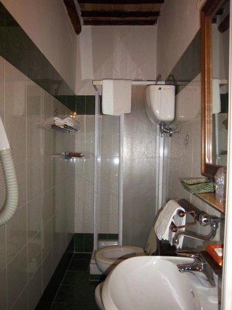 Hotel Antica Torre: Il bagno