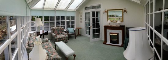 Banchory Lodge: Room 16 conservatory