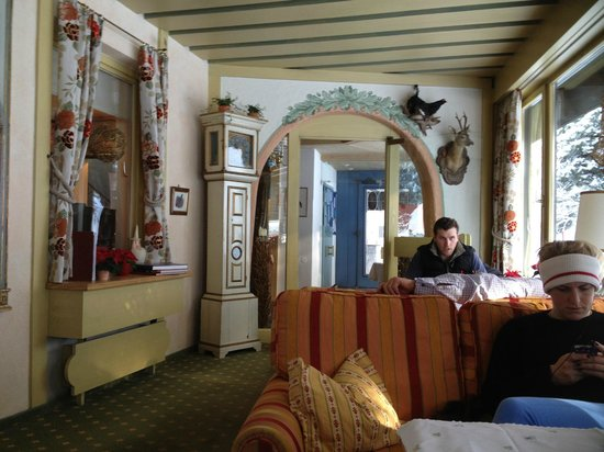 Hotel Elisabeth: Bar area