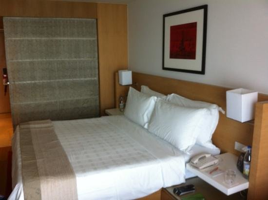 Trident, Nariman Point: king sized bed