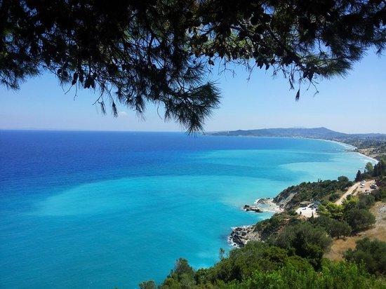 Xygia Sulphur Beach: Xigia view