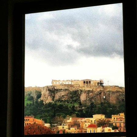 إيه فور أثينا: Vista diurna desde Hab 23
